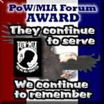 POW/MIA Forum Award