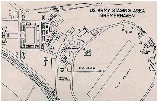 Map of Staging Area
